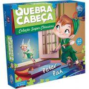 Quebra-Cabeça Cartonado Peter Pan 60 Peças Pais e Filhos