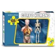 Quebra-Cabeça Educativo Corpo Humano 108 Peças Nig Brinquedos