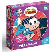 Quebra-Cabeça Gigante em Madeira Meu Sansão 20 Peças - Nig Brinquedos