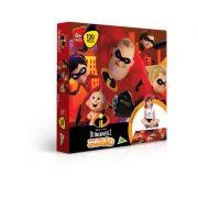 Quebra-Cabeça Grandão - Disney - Pixar - Os Incríveis 2 - 120 Peças - Toyster