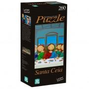 Quebra-Cabeça - Santa Ceia - 260 Peças - Nig Brinquedos