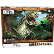 Quebra-Cabeça - T-Rex 150 Peças - Pais & Filhos