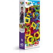 Tand Plic Plec 40 Peças Toyster Brinquedos