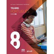 Teláris Língua Portuguesa 8º Ano (Português) Capa Comum – 6 jul 2019