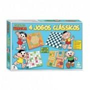 Turma da Mônica 4 Jogos Clássicos - Nig Brinquedos