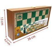 Jogo de Xadrez Em Madeira Escolar 2907 Pais & Filhos