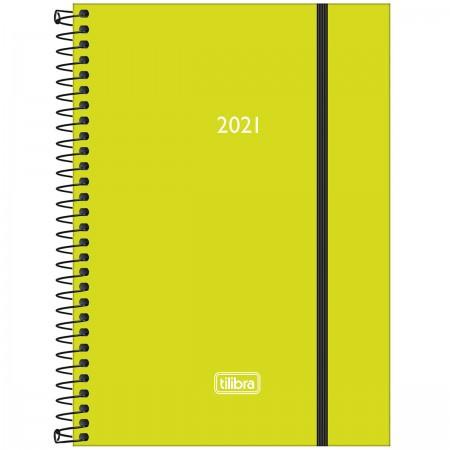 Agenda Espiral Diária Neon 2021