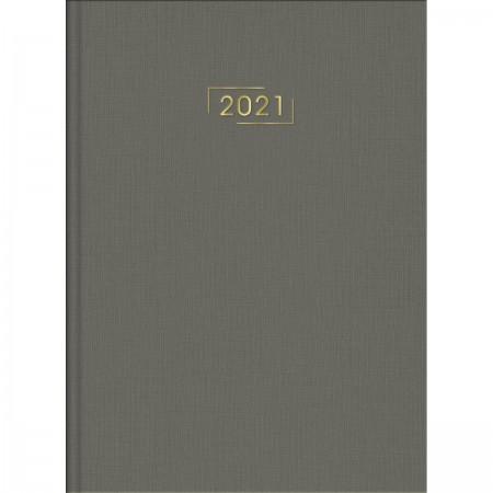 Agenda Executiva Costurada Diária de Mesa Lume 2021