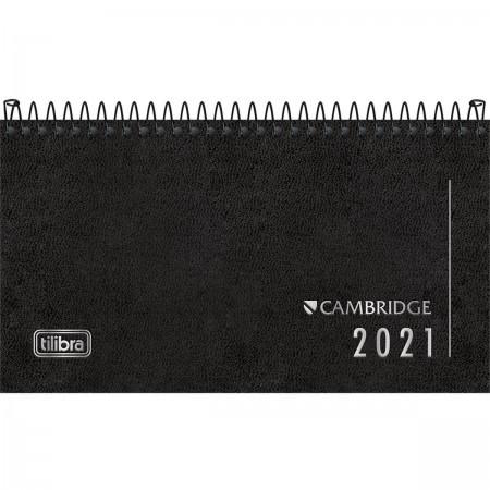 Agenda Executiva Espiral Semanal de Bolso Cambridge 2021