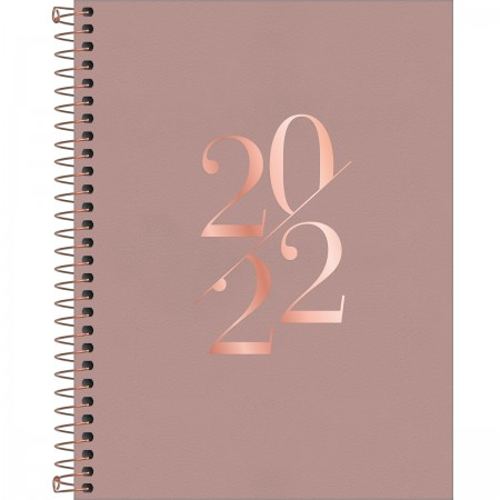 Agenda Executiva Espiral Vanilla 2022