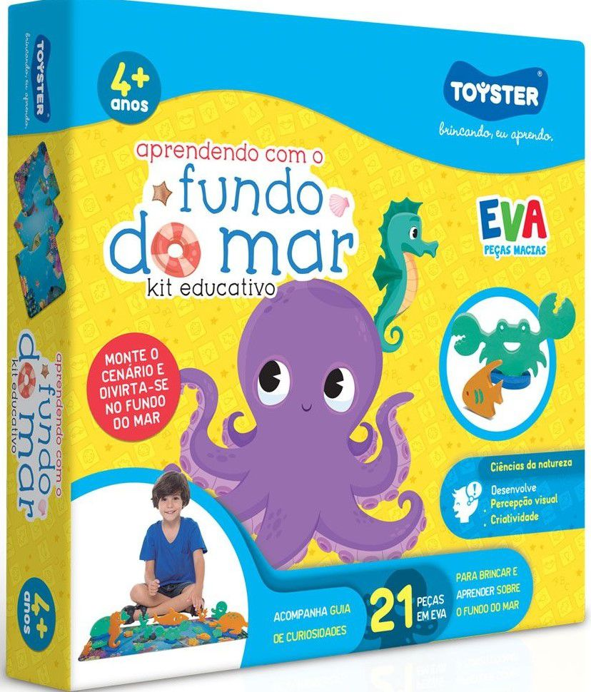 Aprendendo com o Fundo do Mar - Toyster