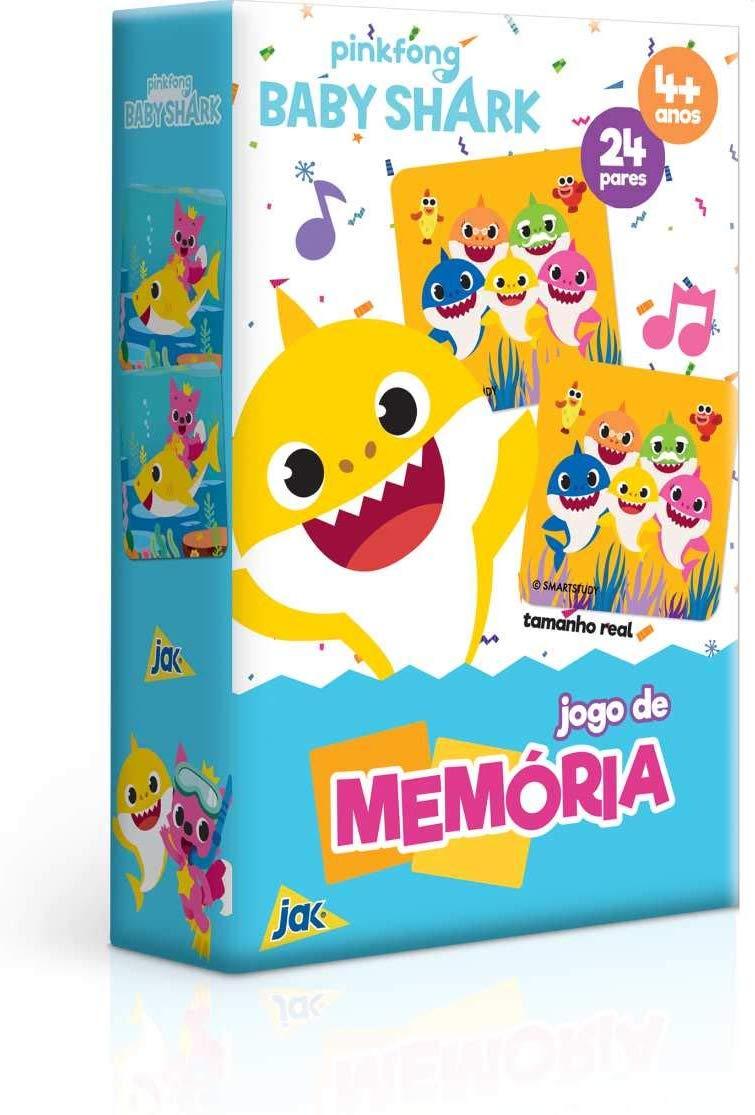 Baby Shark - Jogo De Memória Toyster Brinquedos