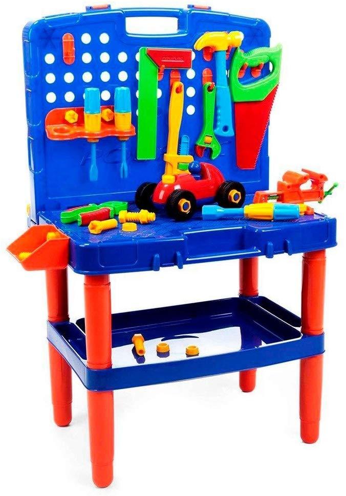 Bancada de ferramentas infantil