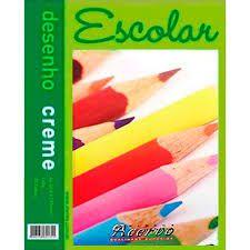 Bloco Acervo Escolar A3 -  20 Folhas Desenho