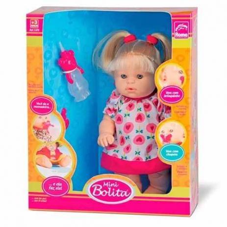 Boneca Mini Bolita - Roma Brinquedos