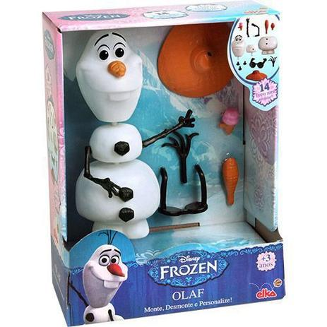 Boneco Frozen Olaf 14 Peças Elka