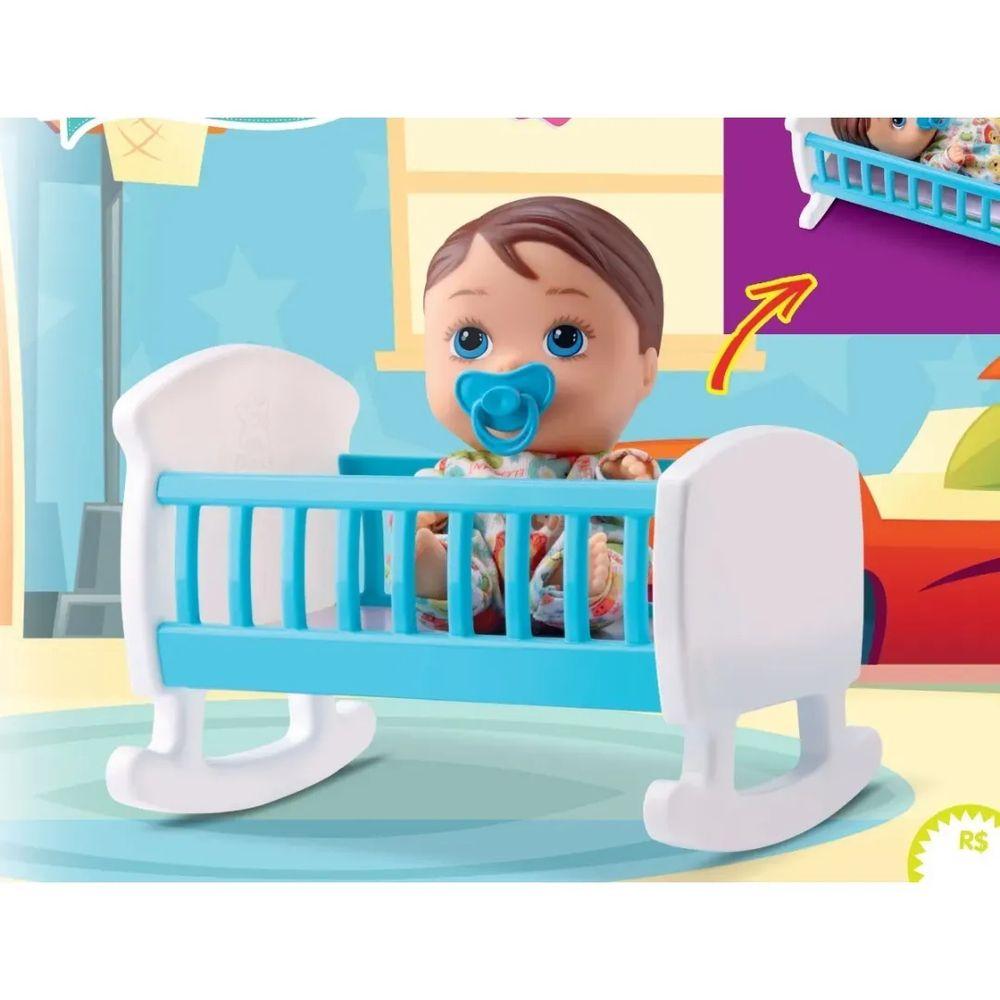 Boneco Little Dolls Bercinho - Diver Toys