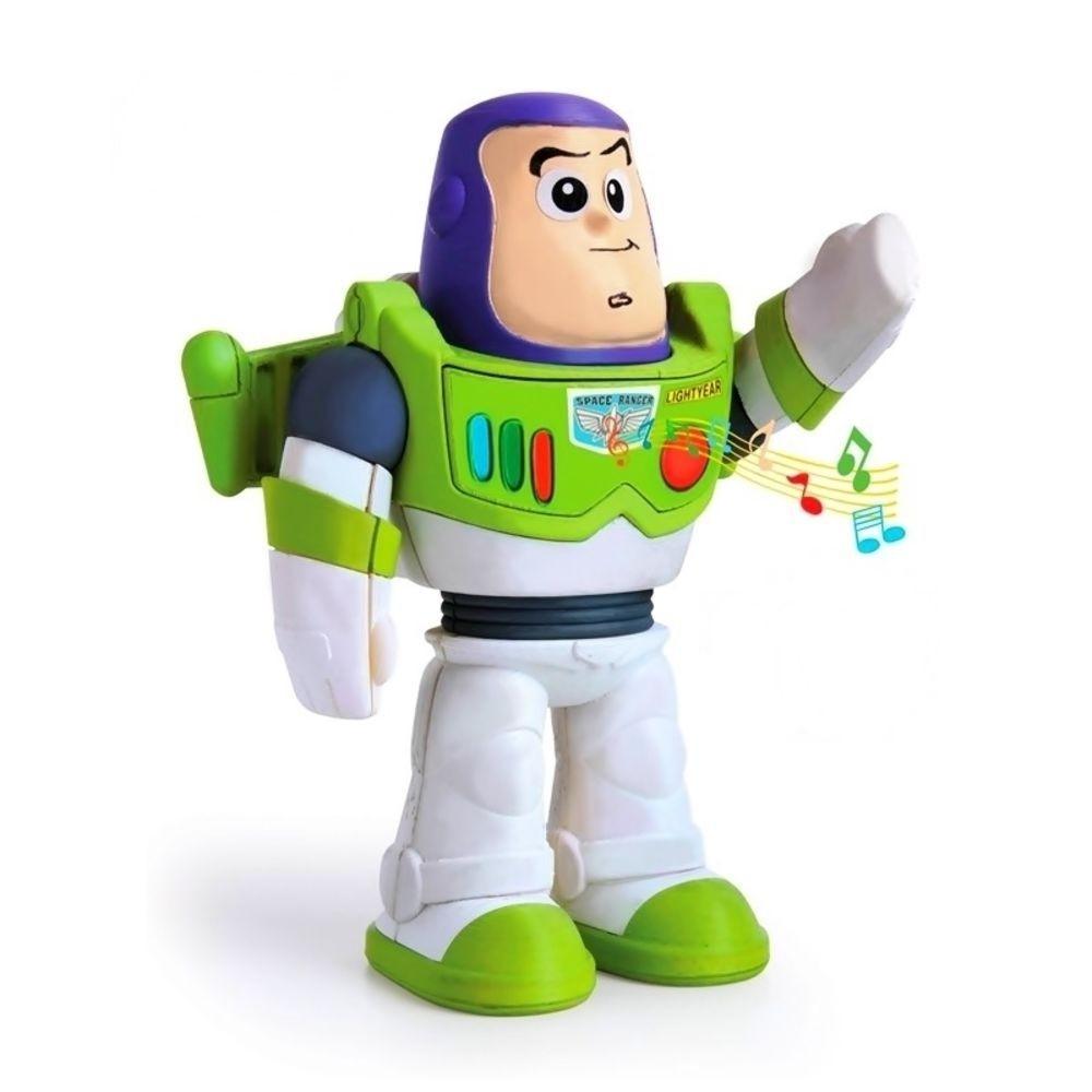 Boneco Meu Amigo Buzz Lightyear Com Som Toy Story Elka