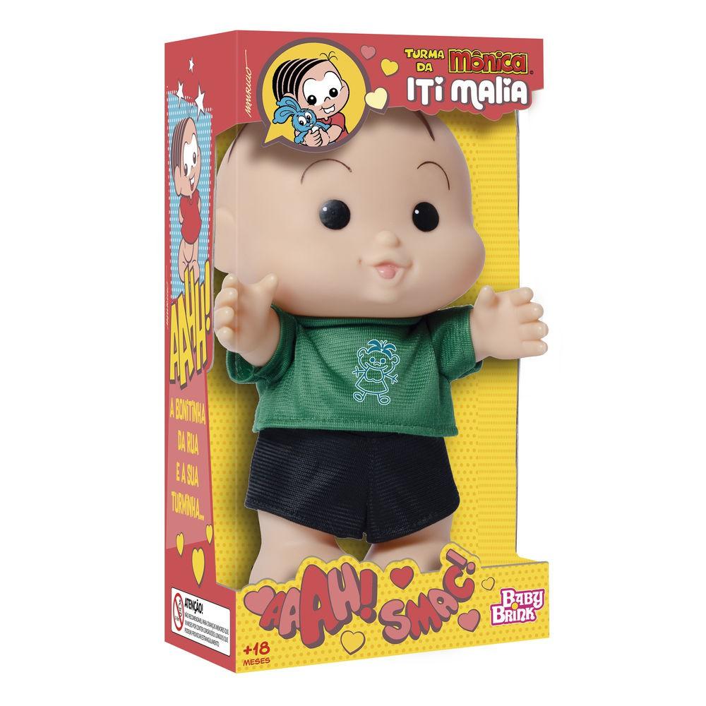 Boneco Turma da Mônica Iti Malia - 23cm- Novabrink