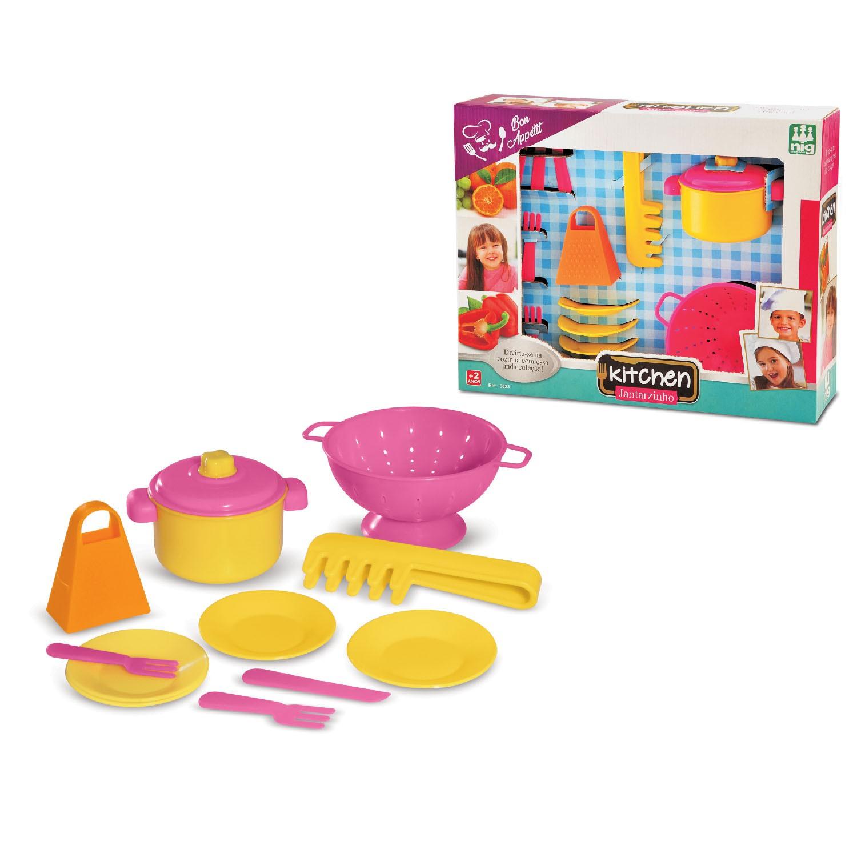 Brincando de Casinha Kitchen Jantarzinho - Nig Brinquedos