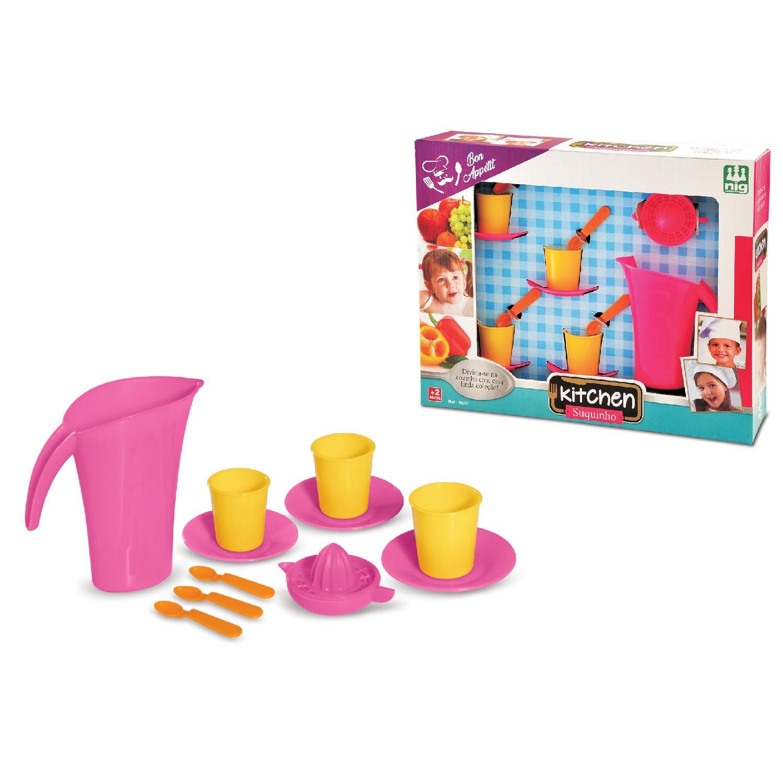 Brincando de Casinha Kitchen Suquinho - Nig Brinquedos