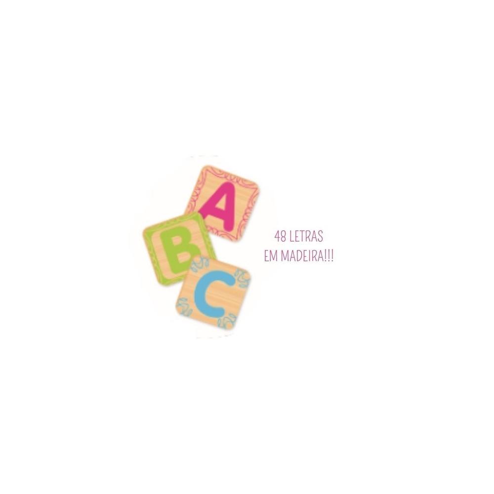 Brinquedo Educativo Crescer Alfabeto - Nig Brinquedos