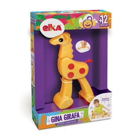 Brinquedo Educativo Infantil Gina Girafa - Elka