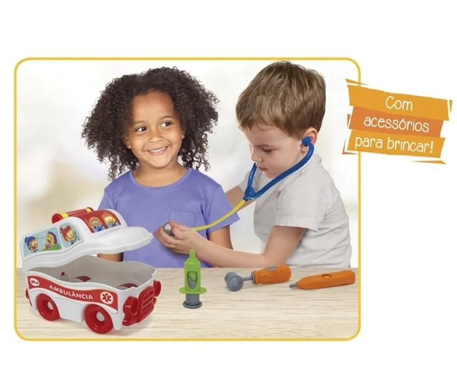 Brinquedo Infantil S.O.S Resgate Ambulância - Elka