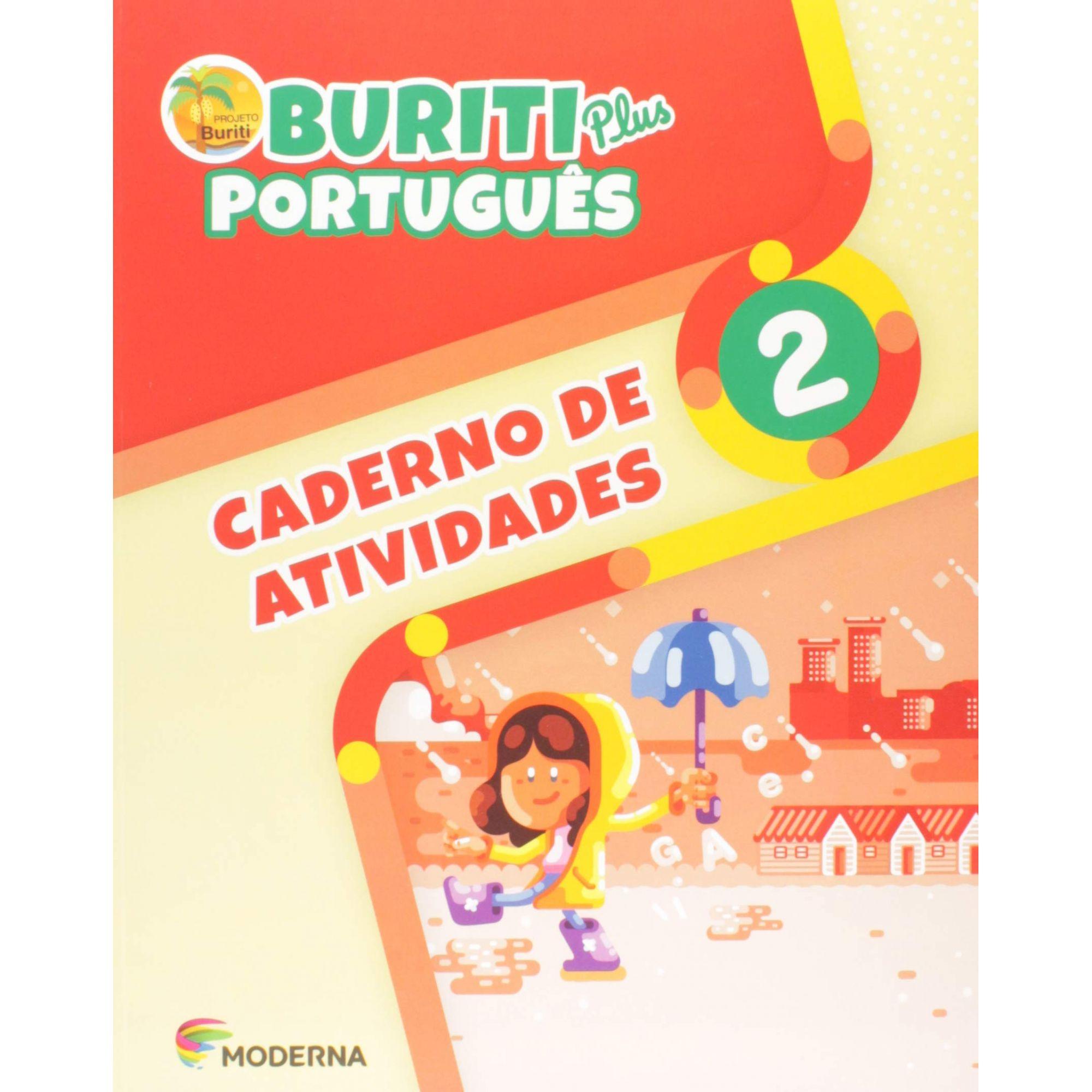 Buriti Plus Português 2 Caderno de Atividades - Capa Comum – Ed. Moderna
