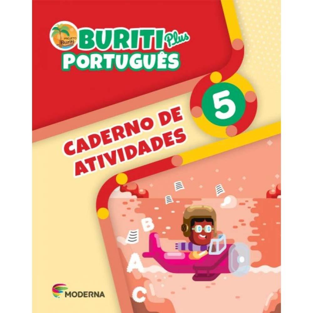 Buriti Plus Português 5 Caderno de Atividades - Capa Comum – Ed. Moderna