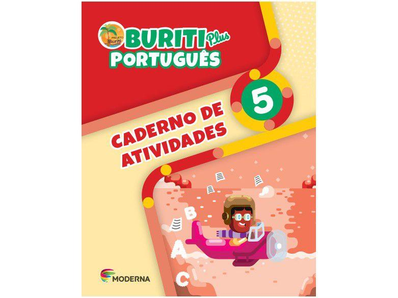 Buriti Plus. Português - 5º Ano - Caderno de Atividades - Ed Moderna