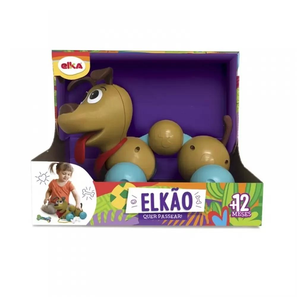 Cachorro Elkão Quer Passear - Elka