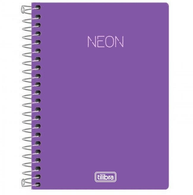 Caderno 10x1 Neon Tilibra (Cores Variadas)