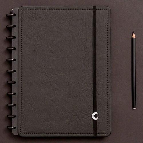 Caderno Inteligente Grande Black Ecológico - CIGD4004