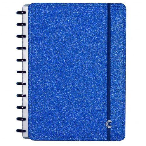 Caderno Inteligente Grande Glitter Blue CIGD4054