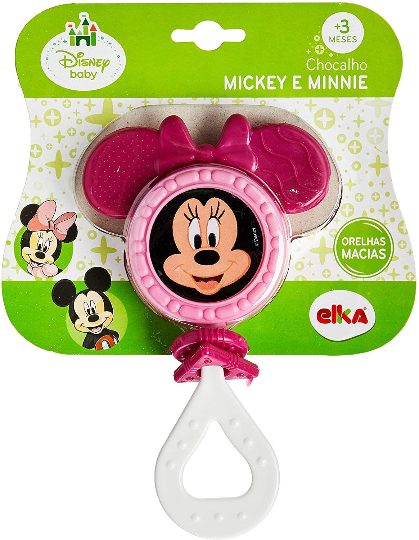 Chocalho Minnie - Disney Baby