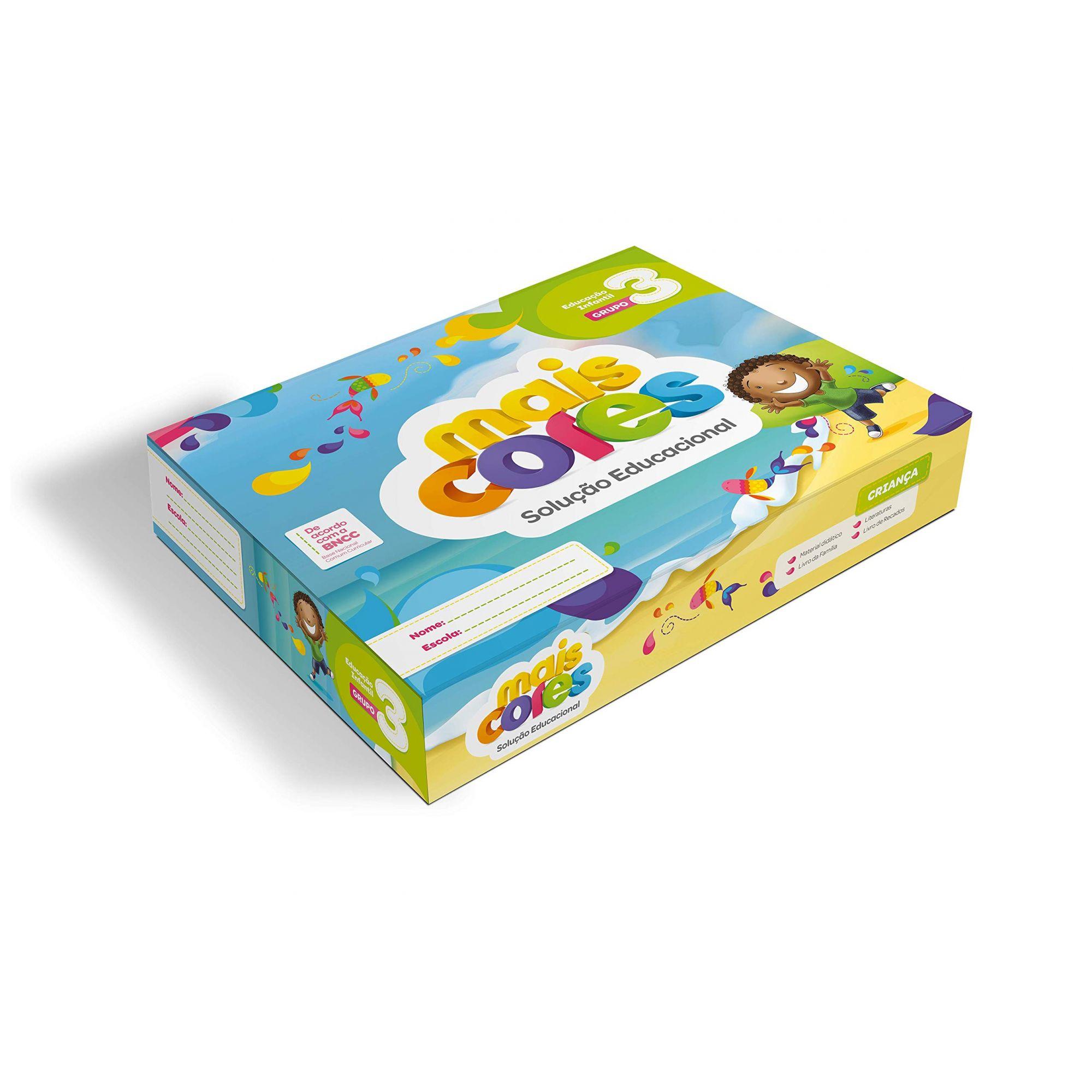 Coleção Mais Cores EI G3- Nova Coleção- Editora Positivo