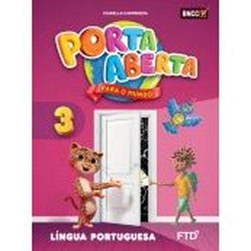 Conjunto Porta Aberta - Língua Portuguesa - 3º Ano - Ed. FTD