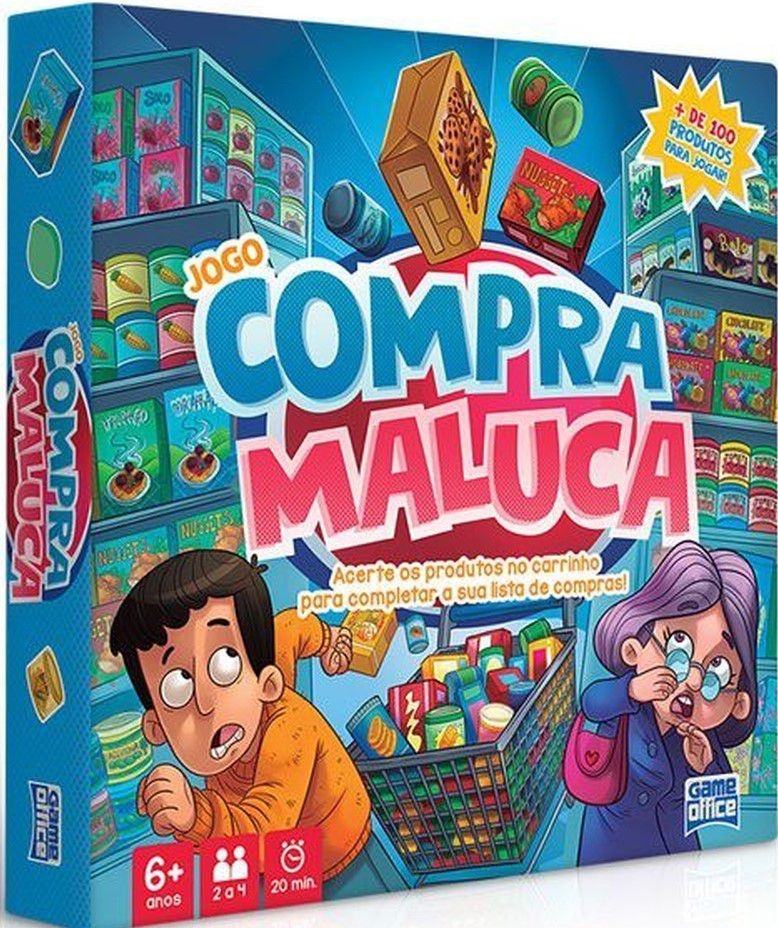 Jogo Compra Maluca - Game Office