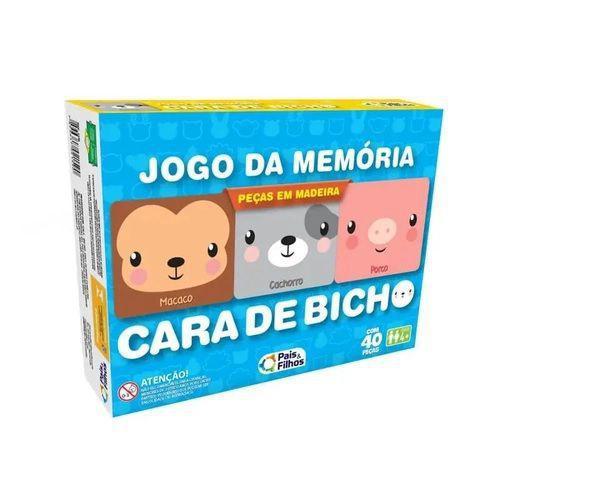 Jogo da Memória 40 Peças - Pais & Filhos