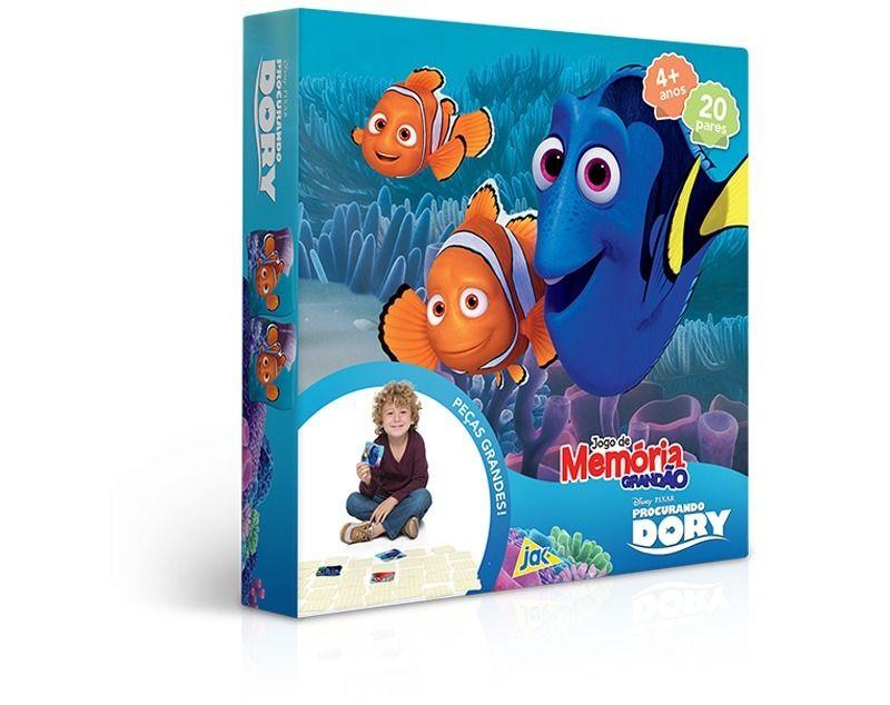 Jogo da Memória Grandão - 40 Peças - Procurando Dory - Disney - Toyster