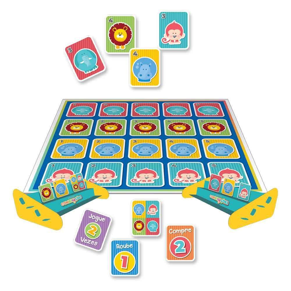 Jogo das Combinações com Animais - Pais e Filhos