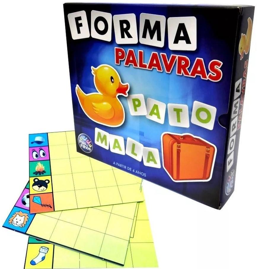 Jogo Educativo Forma Palavras - Pais & Filhos