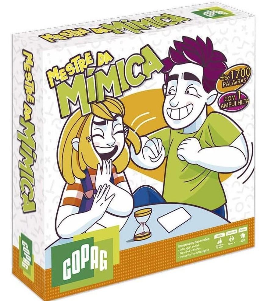 Jogo Mestre da Mímica - Copag