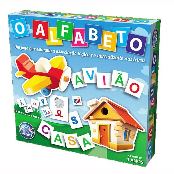 Jogo o Alfabeto - Pais & Filhos