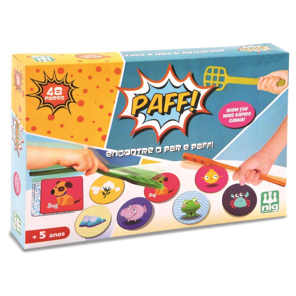 Jogo Paff ! - Nig Brinquedos