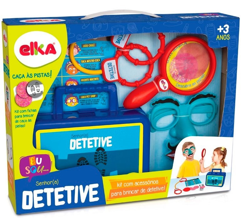 Jogo Senhor Detetive - Elka