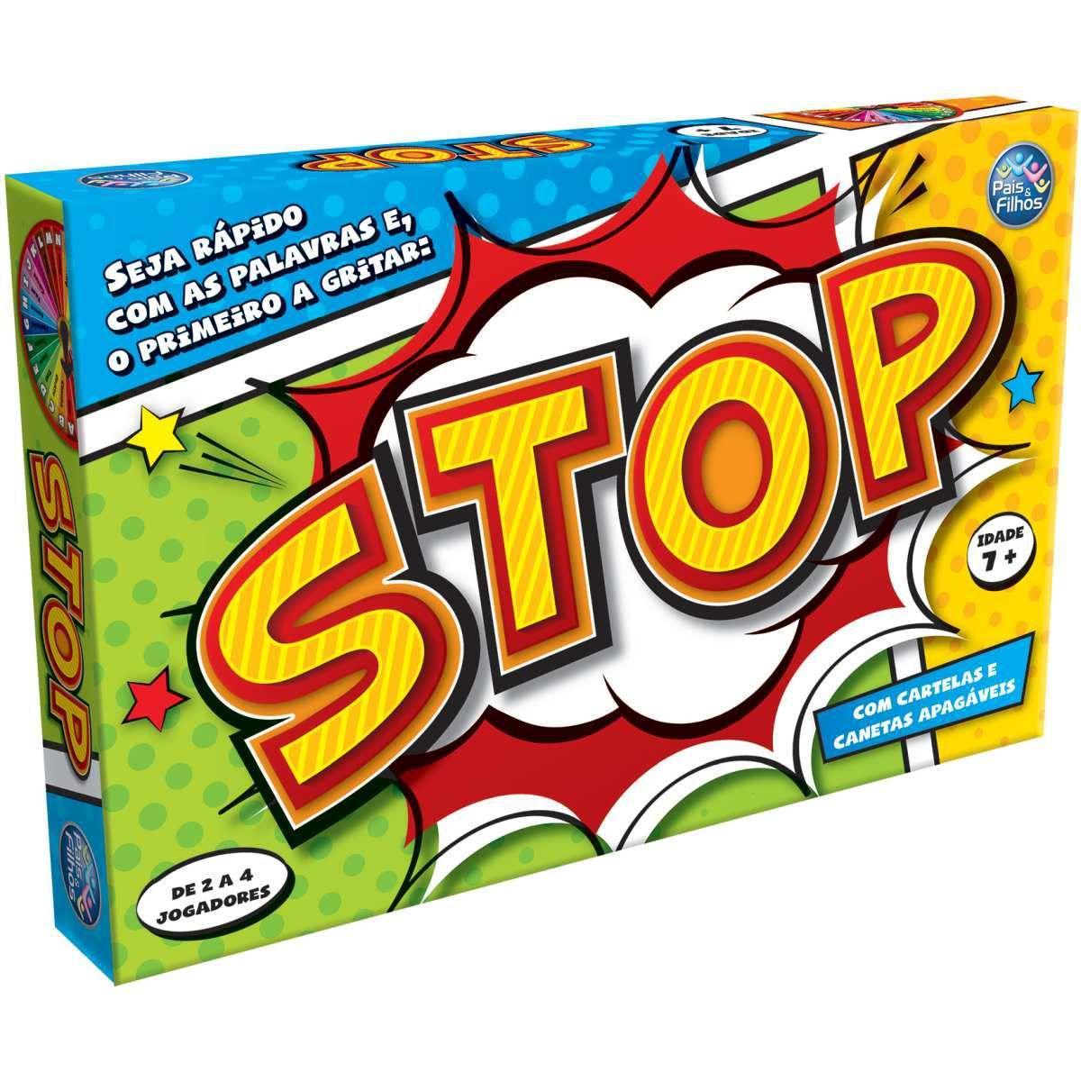 Jogo Stop - Pais & Filhos