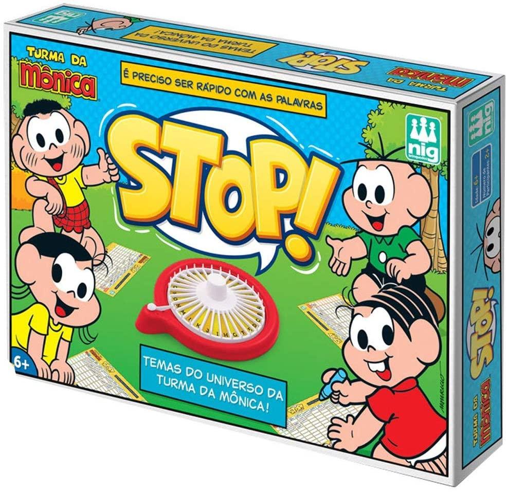 Jogo Stop! Turma Da Mônica - Nig Brinquedos