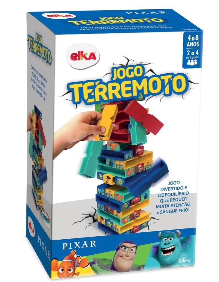 JOGO TERREMOTO - DISNEY PIXAR